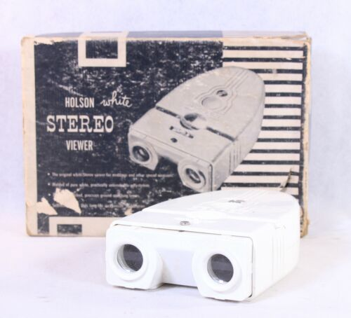 Vintage Holson White Stereo Viewer