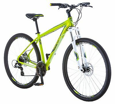 "29"" Mongoose Men's Switchback Mountain Bike, Green, Small"