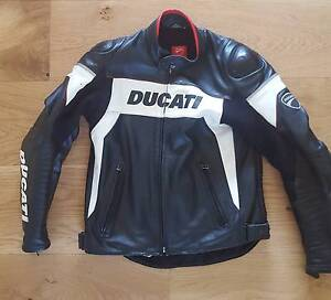 Ducati Hi-Tech 13 Leather Motorbike Motorcycle Mens Jacket 52 Newcastle Newcastle Area Preview