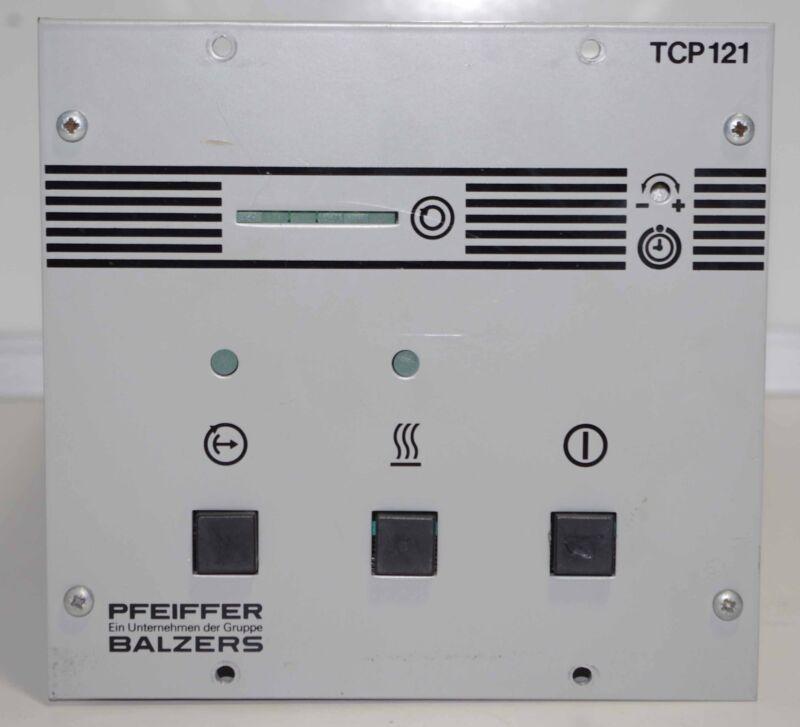 Pfeiffer Balzers Turbo Pump Controller TCP 121 ++