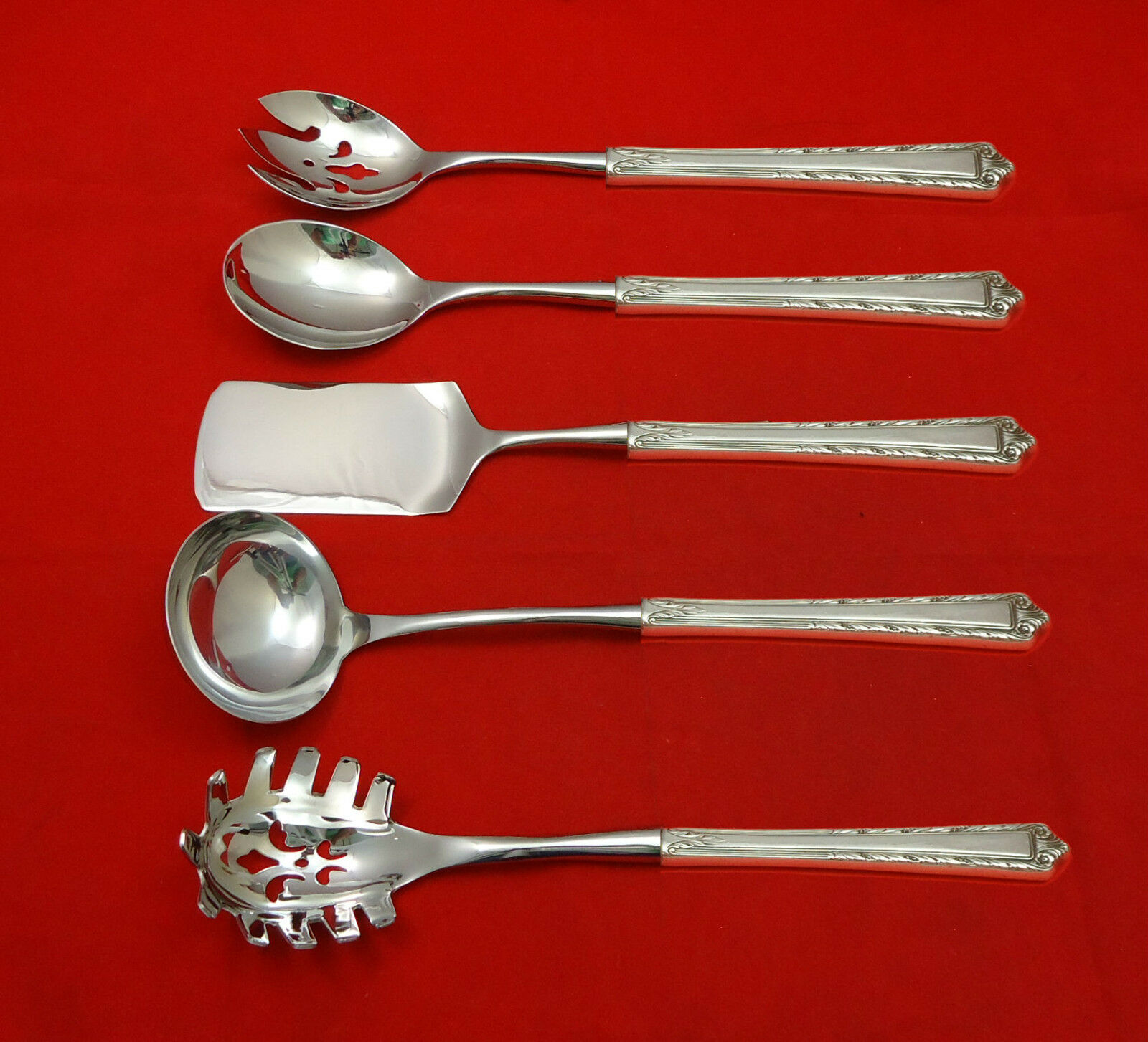 Queen/'s Lace By International Sterling Silver Asparagus Server HHWS Custom