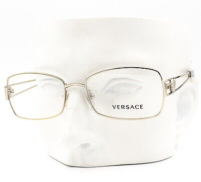 Versace MOD 1207 1252 Eyeglasses Optical Frames Glasses Pale Gold 54-17-137