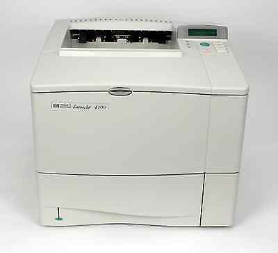 WORLD'S BEST REFURBISHED HP LASERJET 4100N (C8050A) WORKGROUP LASER