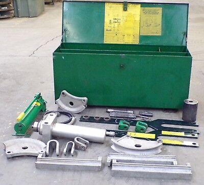 Greenlee Hydraulic Power Bender Emt 885te 50 X 17 12 X 22