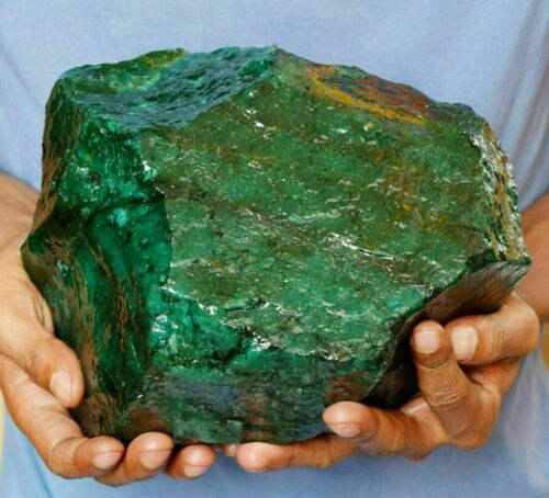 Natural 5.420 Kg EGL Certified Colombian Green Emerald Huge Gemstone Rough