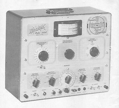Hickok 610a Universal Tv-fmalignment Generator Manual