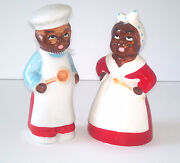 Black Americana Salt and Pepper