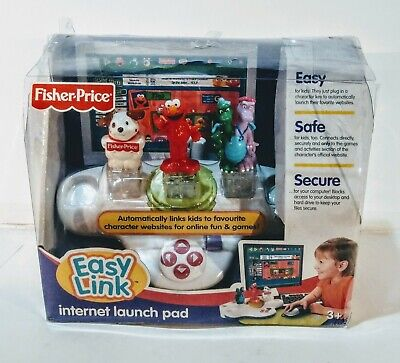2007 Fisher Price EASY LINK INTERNET LAUNCH PAD Elmo