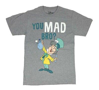 - Disney Alice in Wonderland You Mad Bro Mad Hatter Disneyland Mens T Shirt S-3XL