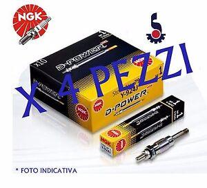KIT-4-PEZZI-CANDELETTE-1-3-MULTIJET-PANDA-500-GRANDE-PUNTO-EVO-Y9001AS-D-POWER-7