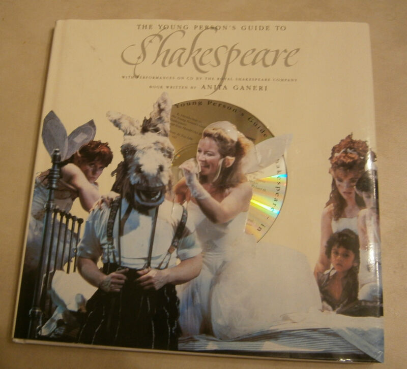 The Young Person's Guide To Shakespeare Book Book & Performances on CD