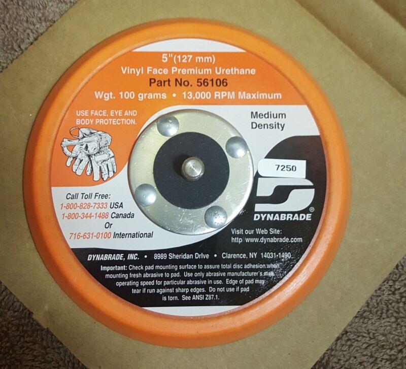 """Dynabrade 56106 5"""" Non-Vacuum Disc Pad Vinyl-Face Premium Urethane"""