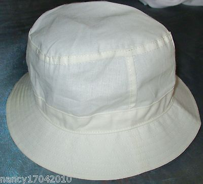 Hut Sommerhut  CODEBA Golf beige Gr. S 55 Stoffhut Kopfbedeckung Fischerhut CAP