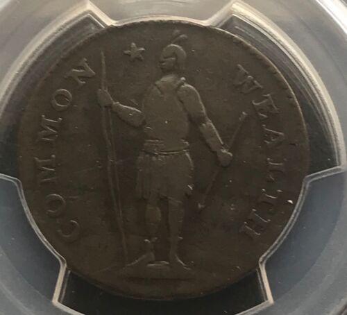1788  Massachusetts  large cent  , Pcgs VF20