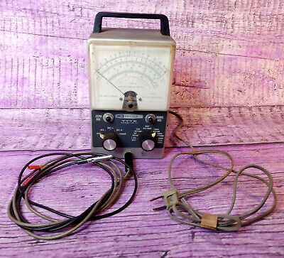 Heathkit Im-11 Vtvm Vacuum Tube Volt Meter Voltmeter New Probe Test Lead Vintage