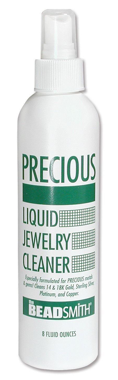 Precious Liquid Jewelry Cleaner : Choose 4oz or 8oz