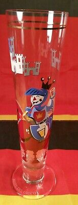 RITZENHOFF BEPPE DEL GRECO Beer Glass Made In Germany - 9.75