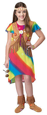 60's Hippie Flower Girl Child Costume