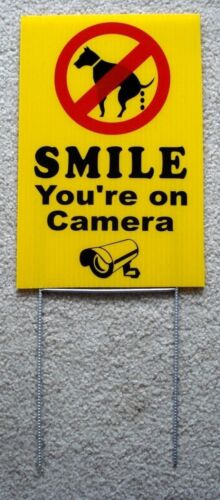 NO DOG POOP - SMILE YOU