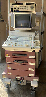Toshiba Ssh-140a Mobile Ultrasound System W 6 Different Probes Make Offer