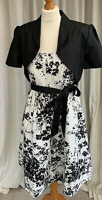 Dress And Bolero Suit By Jessica Howard - Size 16