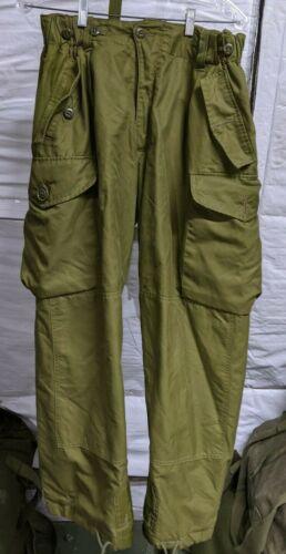 Canadian Forces IECS Combat Pants Goretex Lined Pants Size Medium  7034