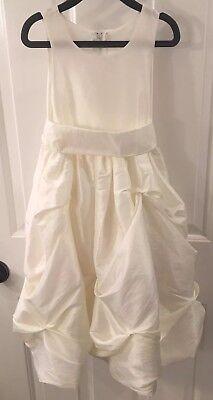 Girls Size 4 Ivory Flower Girl Dress Pageant Communion Dress - Gorgeous EUC! - Gorgeous Flower Girl Dresses
