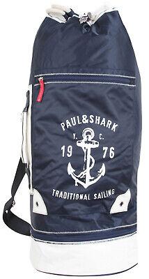 PAUL & SHARK YACHTING Herren Tasche Tragetasche Seesack Rucksack Duffel Bag Blau