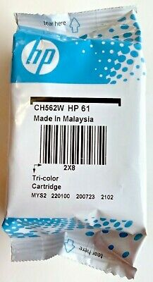 SEALED NEW Genuine HP 61 Printer CH562W Tri COLOR Ink Cartridge deskjet 07/2022