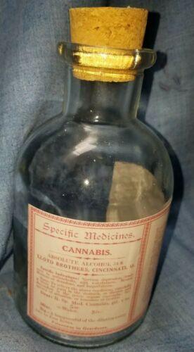 Reproduction Cannabis Medicine Bottle