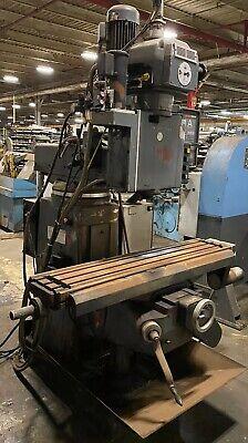 Lagun Ftv-2 Cnc Vertical Knee Mill 10x50 Table Crusader Series M 40 Taper