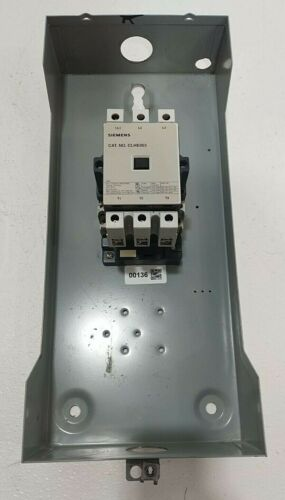 Siemens Contactor 100 Amp 480 Volt 3 Pole 90 Amp