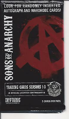 Sons Of Anarchy Seasons 1 3   Trading Cards  Pack