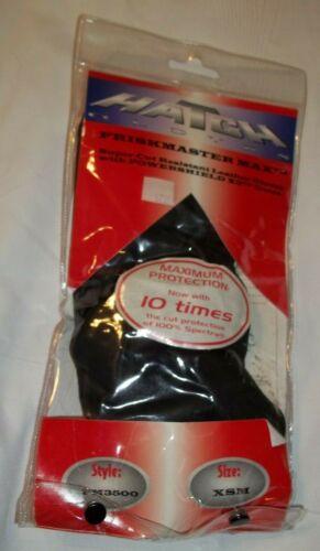 Hatch Friskmaster Max Gloves FM3500 Cut Protection Powershield X3 Black XSM NEW