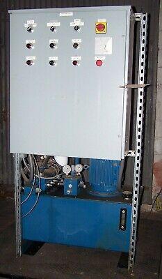 Weg Dofluid 12 Hp Hydraulic Pumping Unit W Controls Clic Dfa-02-3c4-d24-35-101
