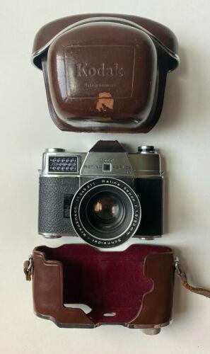 KODAK Retina Reflex IV 35mm SLR Film Camera w/ 50mm f/1.9 Retina-Xenon *TESTED**