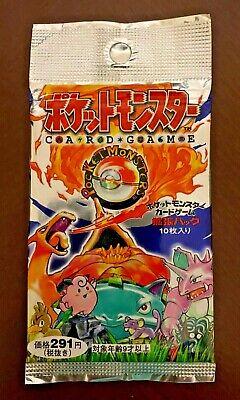 Japanese Pokemon Base 1996 Booster pack 291JP¥ variant pack. SEALED•NEW•OLD !!