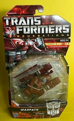 Transformers Generations Universe G1 Warpath MISP