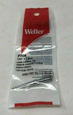 Original New Weller Soldering Pt08 Tcptc201 Irons