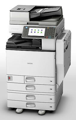 Ricoh Aficio Mp C4502 C5502 Color Multifunction Laser Printer Copier Scanner