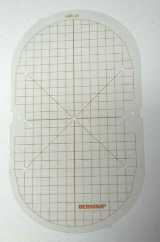 Bernina Large Embroidery Hoop TEMPLATE ONLY  - Orange