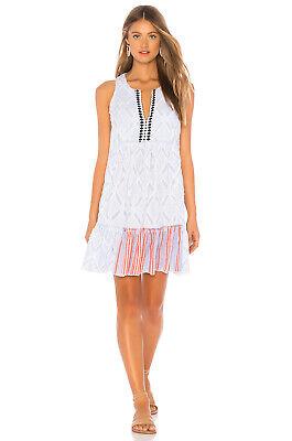 LemLem Blue Besu Bib Dress Sm NWT!! Originally $395.00
