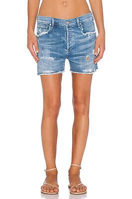 Citizens of Humanity $218 Corey Slouchy Shorts in Skylite; 25