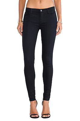 NWT J BRAND 620 Mid-Rise Super Skinny Jeans In Black Sz 30 31 32 $228