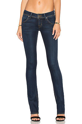 HUDSON JEANS BETH SKINNY PETITE BABY BOOT JEANS IN ORACLE WASH SIZE 25