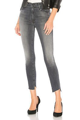 Fray Denim Jeans (MOTHER DENIM The Zip Stunner Two Step Fray skinny jeans size 25 Miss Moody Two S)