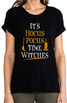 It's Hocus Pocus Time Witches Shirt Halloween Shirt Ideas For Halloween - Witch Halloween Ideas