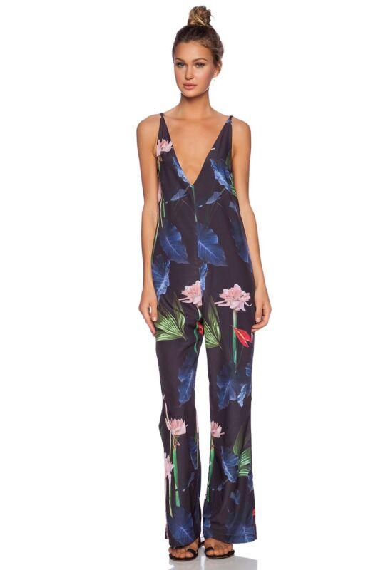 Osklen Floral Jumpsuit Size S