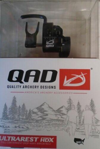 @NEW@ 2021 QAD Ultra Rest HDX Pro Series Drop-Away Arrow Rest! RH Black