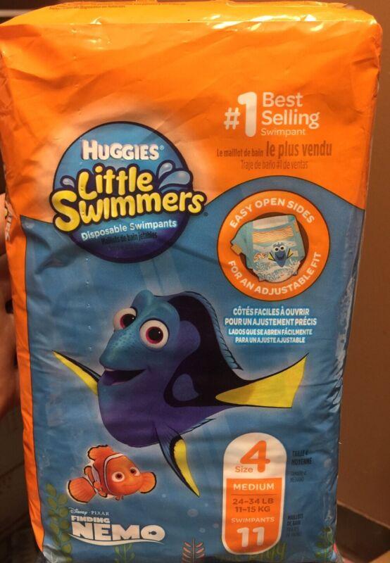 Huggies Little Swimmers Disposable Swimpants Size 4 11ct Medium 24/45lb